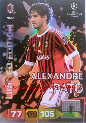 2011-12 - Panini Champions League Cards - N° LE32 - Alexandre PATO (Milan AC) (Limited Edition)