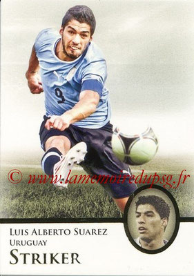 2013 - Futera World Football Unique - N° 089 - Luis Alberto SUAREZ (Uruguay) (Striker)