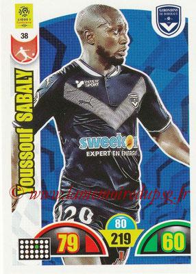 N° 038 - Youssouf SABALY (2013-17, PSG > 2018-19, Bordeaux)