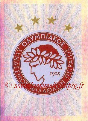 2015-16 - Topps UEFA Champions League Stickers - N° 407 - Logo Olympiacos FC