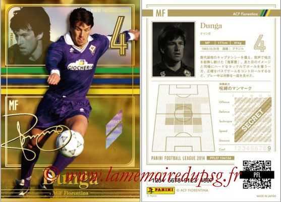 Panini Football League 2014 - PFL07 - N° 154 - DUNGA (Fiorentina) (Premium Legend)