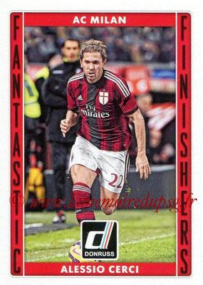 2015 - Panini Donruss Soccer - N° FF01 - Alessio CERCI (Milan AC) (Fantastic Finishers)