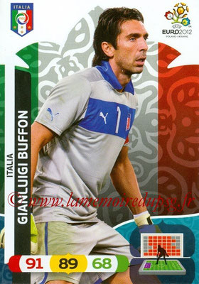 Panini Euro 2012 Cards Adrenalyn XL - N° 115 - Gianluigi BUFFON (Italie)