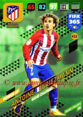 2017-18 - Panini FIFA 365 Cards - N° 433 - Antoine GRIEZMANN (Atlético de Madrid) (Game Changer)