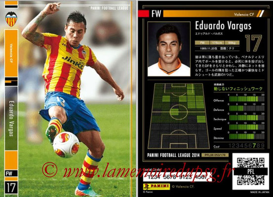 Panini Football League 2014 - PFL08 - N° 053 - Eduardo VARGAS (FC Valence)