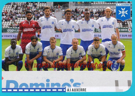 2016-17 - Panini Ligue 1 Stickers - N° 856 - Equipe Auxerre