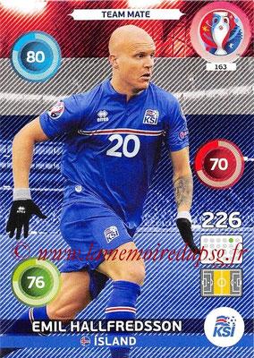 Panini Euro 2016 Cards - N° 163 - Emil HALLFREDSSON (Islande)