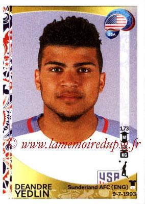 Panini Copa America Centenario USA 2016 Stickers - N° 022 - Deandre YEDLIN (USA)