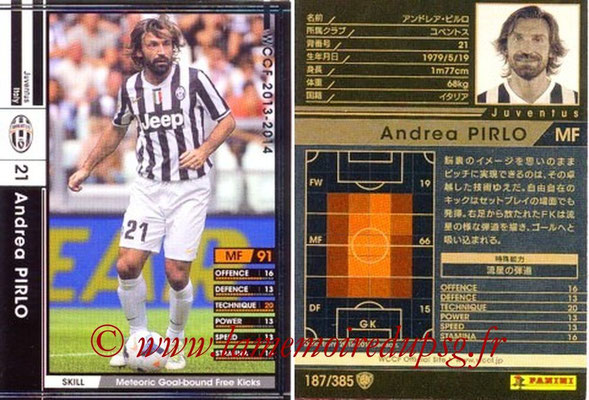 2013-14 - WCCF - N° 187 - Andrea PIRLO (Juventus FC)