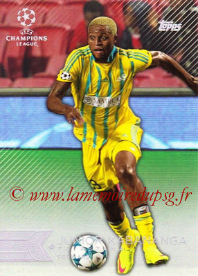 2015-16 - Topps UEFA Champions League Showcase Soccer - N° 079 - Junior KABANANGA (FC Astana)