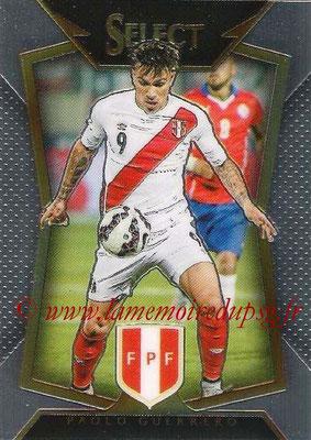 2015 - Panini Select Soccer - N° 010 - Paolo GUERRERO (Perou)