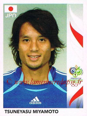 2006 - Panini FIFA World Cup Germany Stickers - N° 439 - Tsuneyasu MIYAMOTO (Japon)