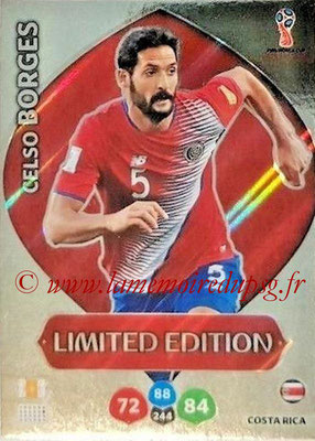 2018 - Panini FIFA World Cup Russia Adrenalyn XL - N° LE-CB - Celso BORGES (Costa Rica) (Limited Edition)