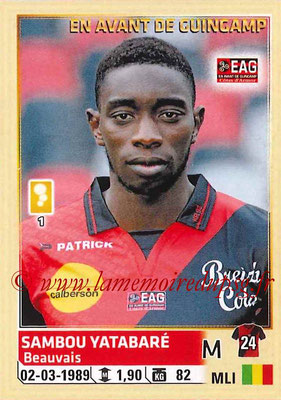 2014-15 - Panini Ligue 1 Stickers - N° 115 - Sambou YATABARE (EA Guingamp)