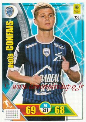 2017-18 - Panini Adrenalyn XL Ligue 1 - N° 358 - Alois CONFAIS (Troyes)