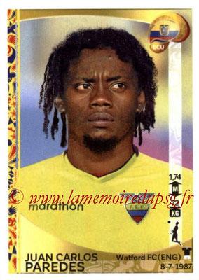 Panini Copa America Centenario USA 2016 Stickers - N° 141 - Juan Carlos PAREDES (Equateur)