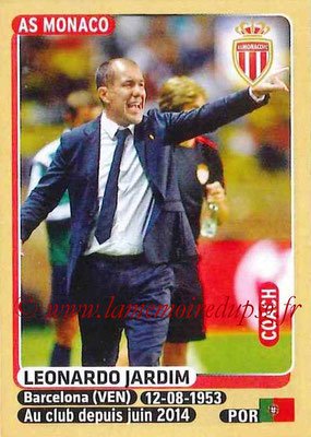2015-16 - Panini Ligue 1 Stickers - N° 246 - Leonardo JARDIM (AS Monaco) (Coach)