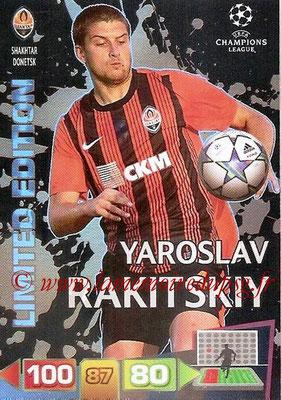 2011-12 - Panini Champions League Cards - N° LE41 - Yaroslav RAKITSKIY (Shakhtar Donetsk) (Limited Edition)