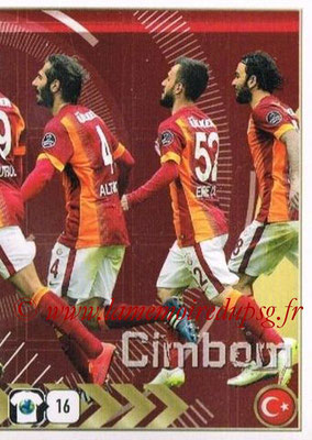 2015-16 - Panini FIFA 365 Stickers - N° 778 - Equipe Galatasaray AS 2