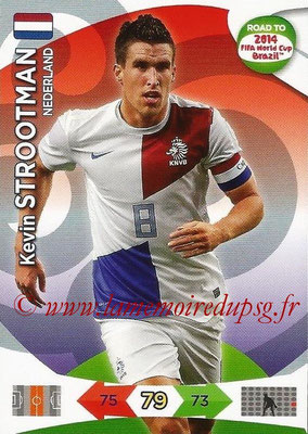 2014 - Panini Road to FIFA World Cup Brazil Adrenalyn XL - N° 133 - Kevin STROOTMAN (Pays-Bas)
