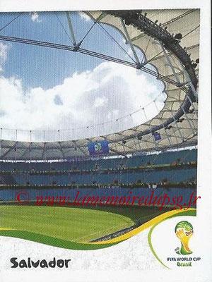 2014 - Panini FIFA World Cup Brazil Stickers - N° 029 - Arena Fonte Nova - Salvador (2)