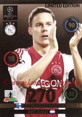 2014-15 - Adrenalyn XL champions League N° LE-NM - Niklas MOISANDER (AFC Ajax) (Limited Edition)