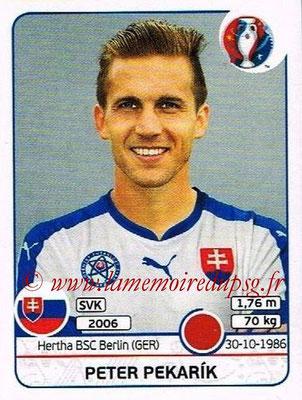 Panini Euro 2016 Stickers - N° 218 - Peter PEKARIK (Slovénie)