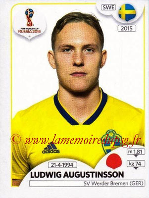 2018 - Panini FIFA World Cup Russia Stickers - N° 479 - Ludwig AUGUSTINSSON (Suede)