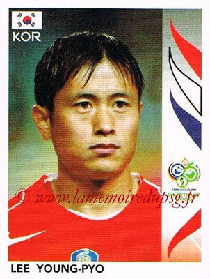 2006 - Panini FIFA World Cup Germany Stickers - N° 506 - Lee YOUNG-PYO (Corée du Sud)