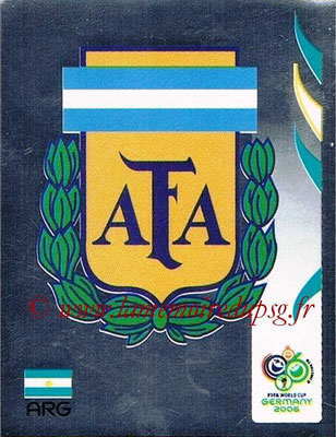 2006 - Panini FIFA World Cup Germany Stickers - N° 170 - Logo Argentine