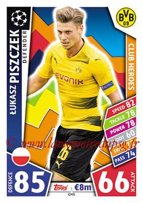 2017-18 - Topps UEFA Champions League Match Attax - N° CH05 - Lukasz PISZCZEK (Borussia Dortmund) (Club Heroes)