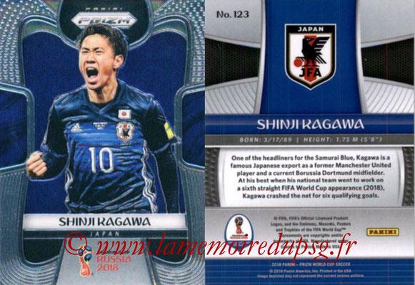 2018 - Panini Prizm FIFA World Cup Russia - N° 123 - Shinji KAGAWA (Japon)