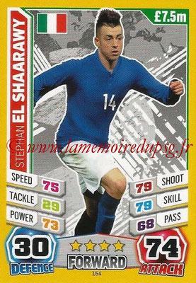 Topps Match Attax England 2014 - N° 154 - Stephan EL SHAARAWY (Italie)