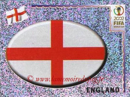 2002 - Panini FIFA World Cup Stickers - N° 422 - Logo Angleterre
