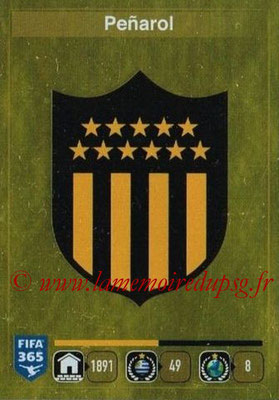2015-16 - Panini FIFA 365 Stickers - N° 821- Ecusson Penarol