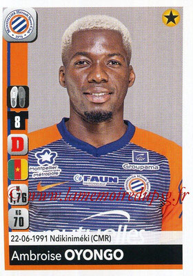 2018-19 - Panini Ligue 1 Stickers - N° 259 - Ambroise OYONGO (Montpellier)