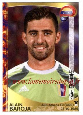 Panini Copa America Centenario USA 2016 Stickers - N° 281 - Alain BAROJA (Venezuela)