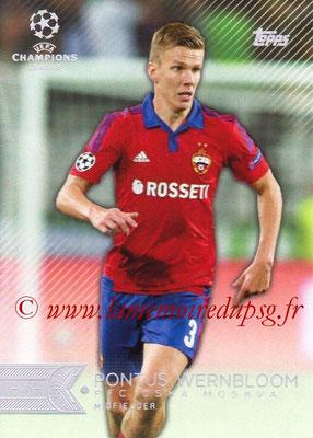 2015-16 - Topps UEFA Champions League Showcase Soccer - N° 047 - Pontus WERNBLOOM (CSKA Moscou)