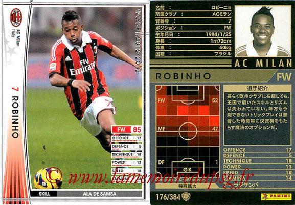 2012-13 - WCCF - N° 176 - ROBINHO (Milan AC)