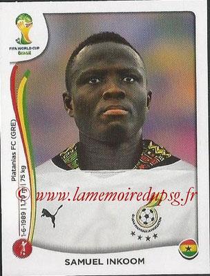2014 - Panini FIFA World Cup Brazil Stickers - N° 529 - Samuel INKOOM (Ghana)