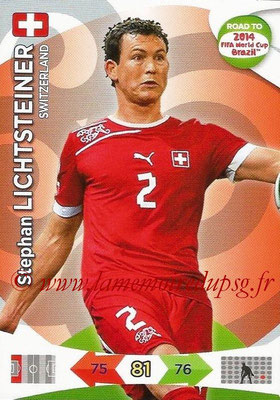 2014 - Panini Road to FIFA World Cup Brazil Adrenalyn XL - N° 176 - Stephan LICHTSTEINER (Suisse)