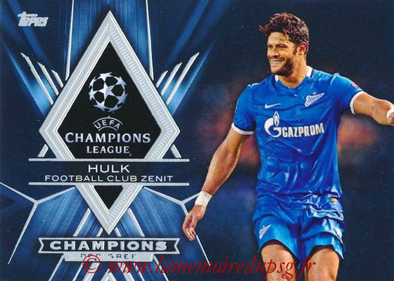 2015-16 - Topps UEFA Champions League Showcase Soccer - N° CP-H - HULK (FC Zenit) (Champions Pedigree)