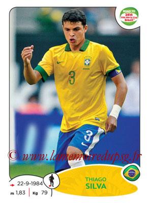 N° 006 - Thiago SILVA (2012-??, PSG > 2014, Brésil)