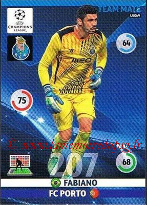 2014-15 - Adrenalyn XL champions League Update edition N° UE069 - FABIANO (FC Porto) (Master)