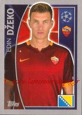 2015-16 - Topps UEFA Champions League Stickers - N° 346 - Edin DZEKO (AS Roma)