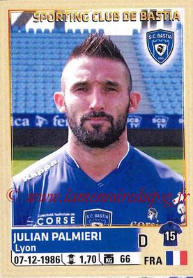 2014-15 - Panini Ligue 1 Stickers - N° 008 - Julian PALMIERI (SC Bastia)
