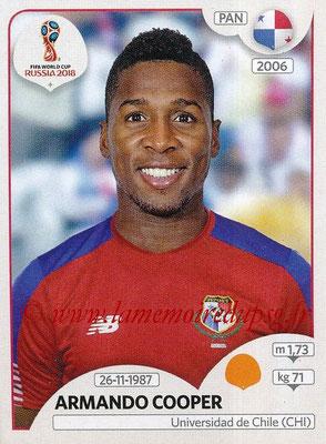 2018 - Panini FIFA World Cup Russia Stickers - N° 545 - Armando COOPER (Panama)
