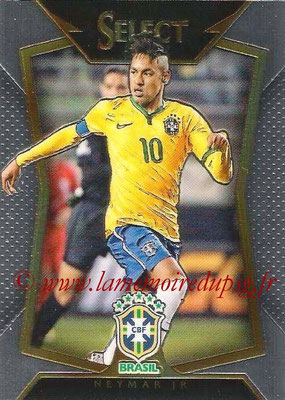 2015 - Panini Select Soccer - N° 022 - NEYMAR JR (Brésil)