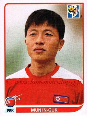 2010 - Panini FIFA World Cup South Africa Stickers - N° 517 - Mun IN-GUK (Corée du Nord)