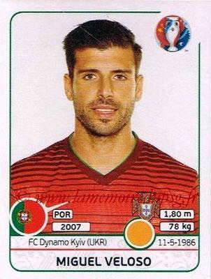 Panini Euro 2016 Stickers - N° 591 - Miguel VELOSO (Portugal)